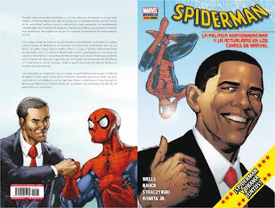 spiderman obama comic marvel