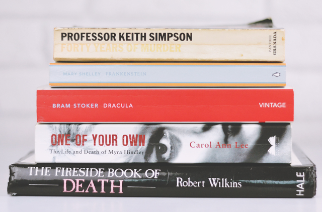 Books about crime and death