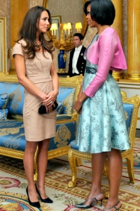 Kate Middleton and Michelle Obama