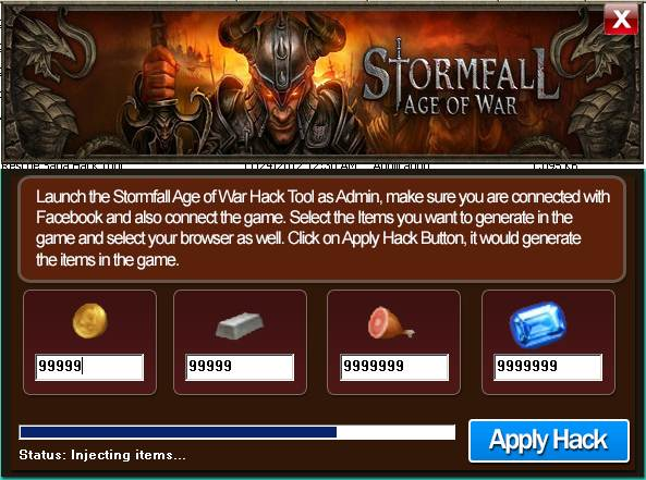 Stormfall: Age Of War  Hack Tool 2013