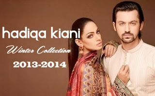 Hadiqa Kiani Winter Collection