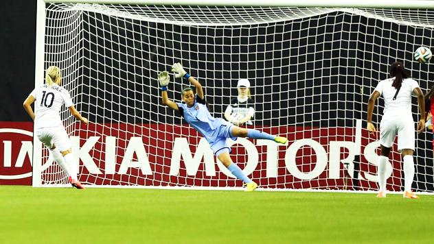 Copa Mundial Femenina Sub-20 Canadá 2014. Fase de Grupos: Francia vs. Costa Rica | Ximinia