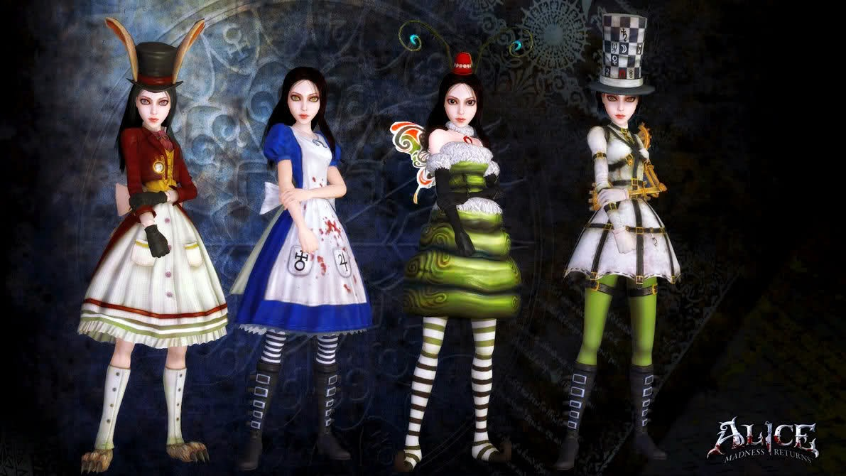 alice madness returns trajes 2