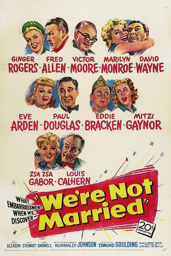 No estamos casados (1952) Descargar y ver Online Gratis