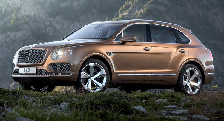 New Bentley Bentayga SUV Officially Revealed In 37 Pics  Videos