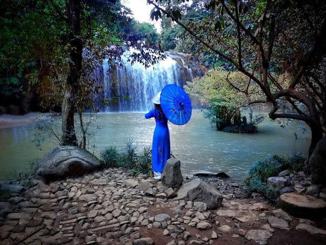 водопад Пренн, тревэл блогер Нинелли