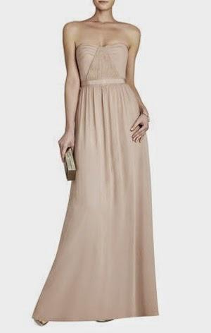 robe mariage bcbg max azria