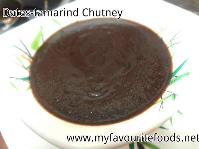 Dates-Tamarind Chutney