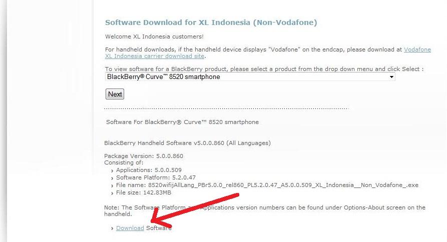 blackberry 8520 application loader download