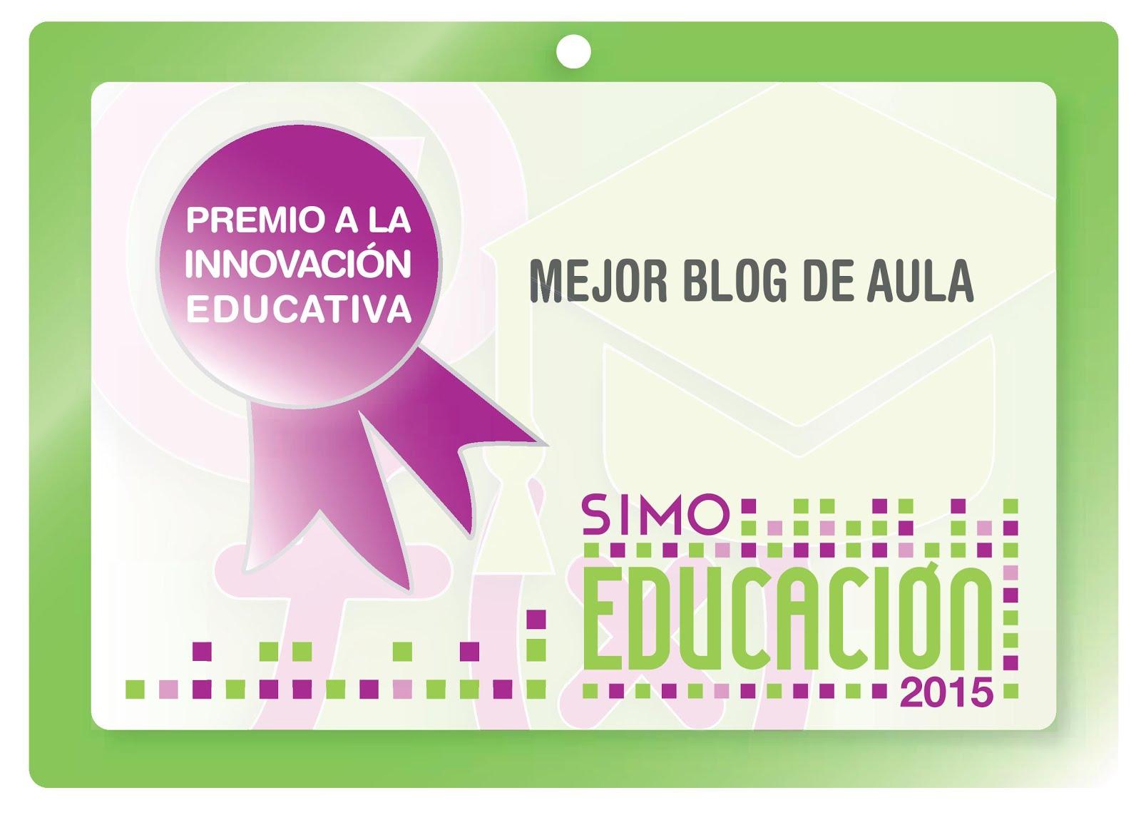 Premio Mejor Blog del aula SIMO 2015