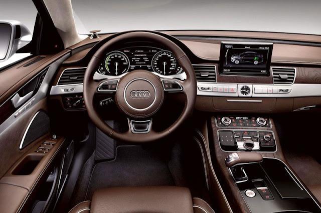 2013 Audi A8 L Sedan Front Interior