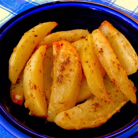 One Perfect Bite: Greek-Style Roast Potatoes - We Are 238 Years Old ...