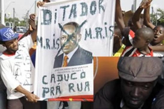 GOVERNO DE ANGOLA MANDA PRENDER MANIFESTANTES DA LUTA CONTRA A POBREZA