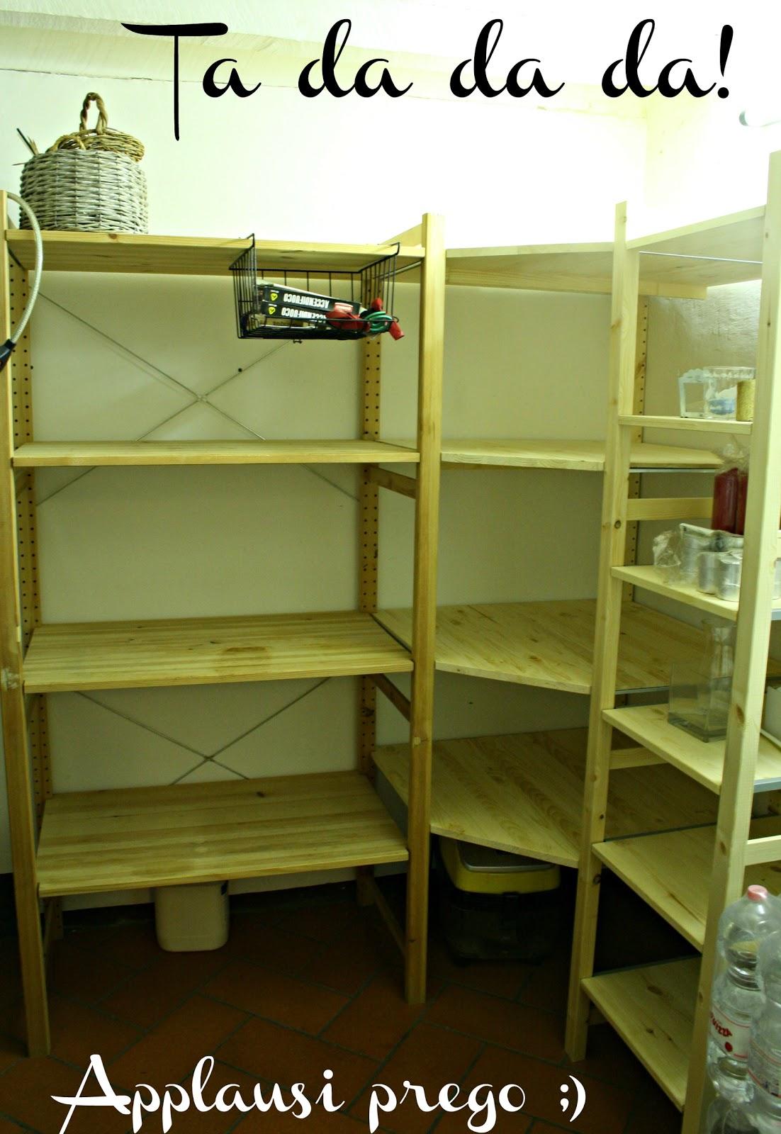 Nel nido come montare un ivar angolare ikea senza for Ikea scaffali ivar