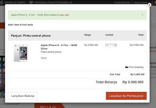 mataharimall.com e-commerce no 1 di area indonesia
