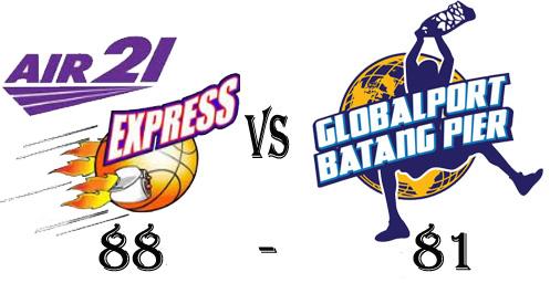 Air21 Express wins over Globalport Batang Pier at Game 6