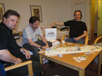 Tokaido - Some of the players