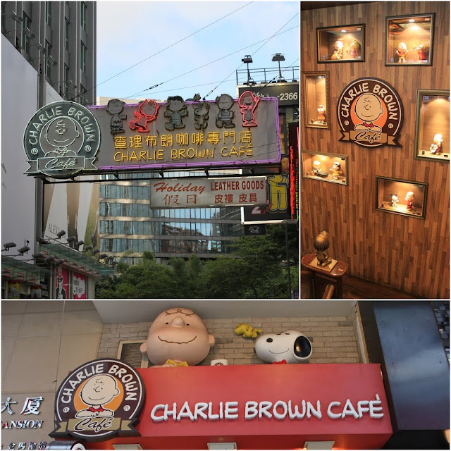 Charlie Brown Cafe is located along Cameron Rd, Tsim Sha Tsui in Kowloon, Hong Kong