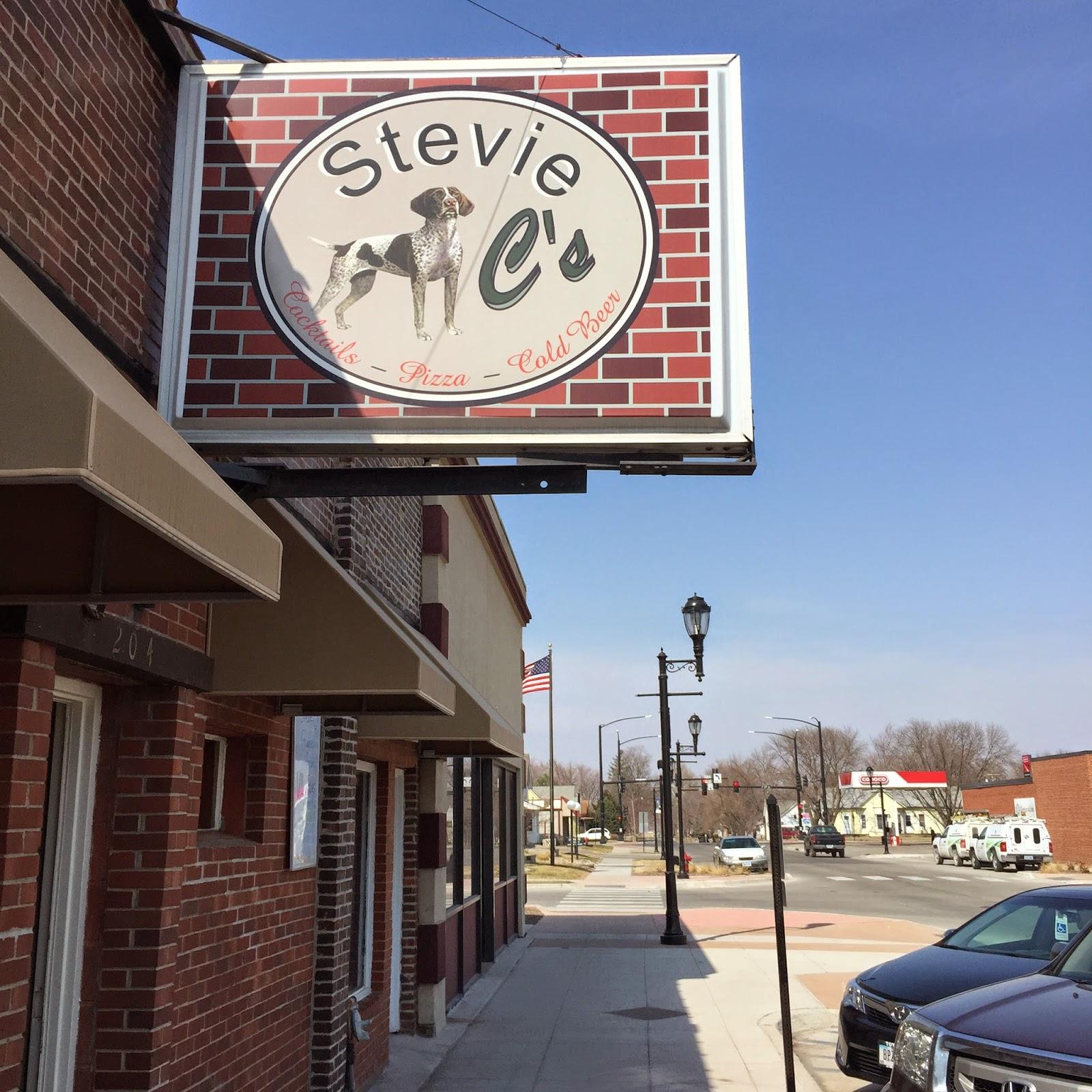 stevie c's dive bar sign grimes