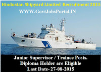 HSL RECRUITMENT 2015