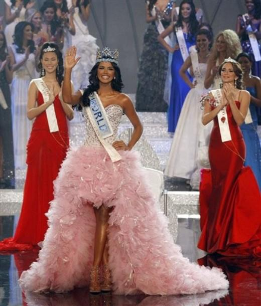 Venezuelan ivian sarcos has recently been crowned as the new miss world 2011