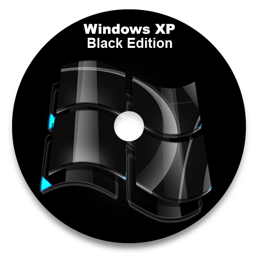 Windows XP Professional SP3 Black Edition 32bit (ISO File) Updated May