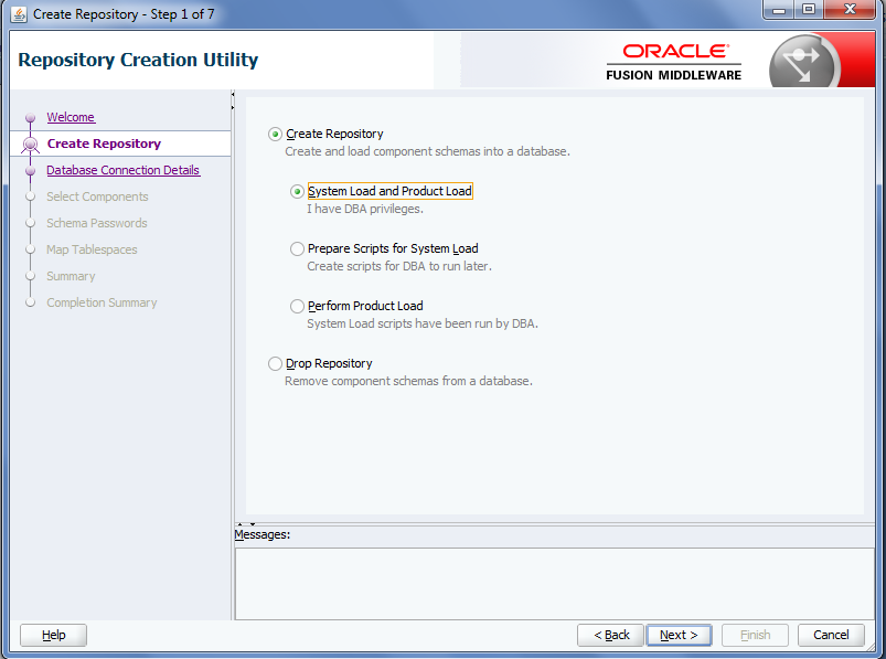 Oracle MFT RCU