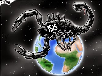 Bill Day: ISIS the Scorpion.