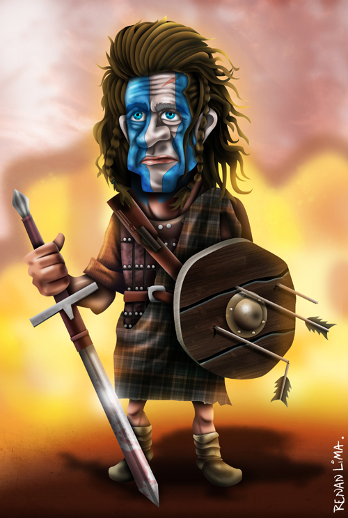 William Wallace, do filme Coração Valente.