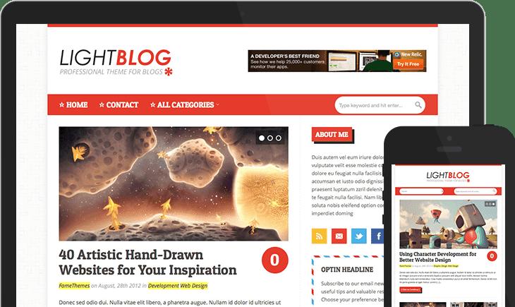 LightBlog WordPress Theme