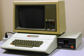 The Apple II that my Dad brought to my 1st grade class in 1982