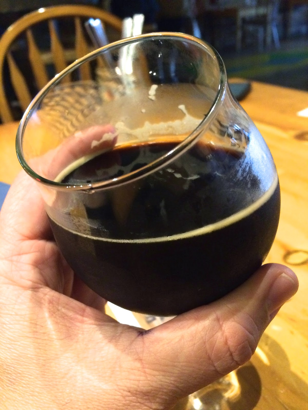 Tioga Sequoia Rush Hour Coffee Stout 2