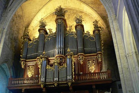 L'orgue de la cathédrale de Montpellier