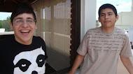 Celso y Federico. Vecinos de Vicente Lopez