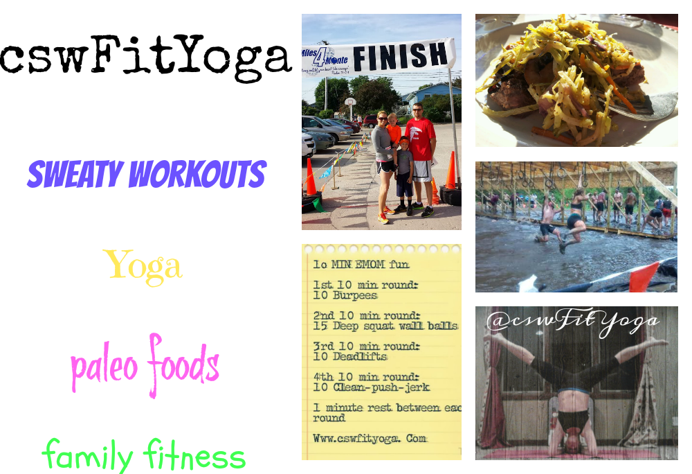 Workouts, Recipes, Yoga, and Family