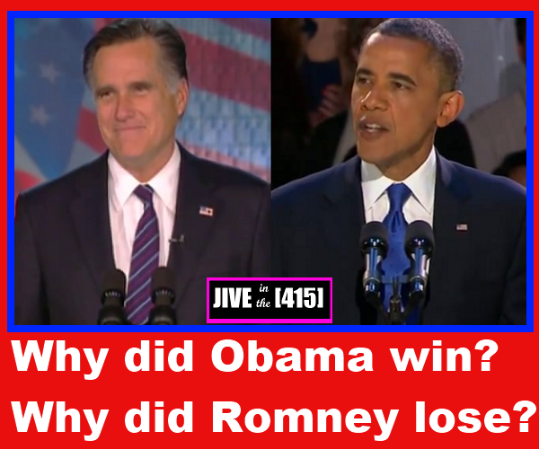 How did Obama soundly defeat Romney in election 2012?