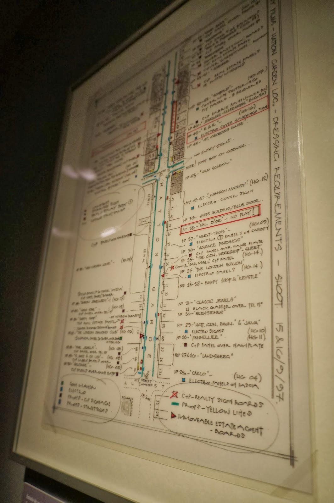 """estudos de cenário do filme """"De olhos bem fechados"""" - Stanley Kubrick - MIS - SP"""