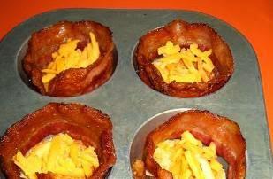 Queso, bacon y huevo 3