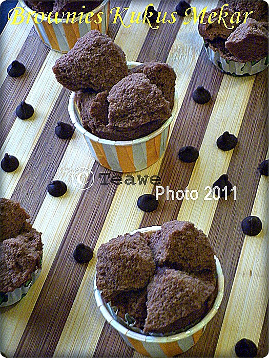 Welcome to teawe 39 s blog brownies kukus mekar Home mekar