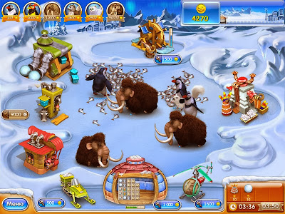Free Download Farm Frenzy 3 Ice Age Game