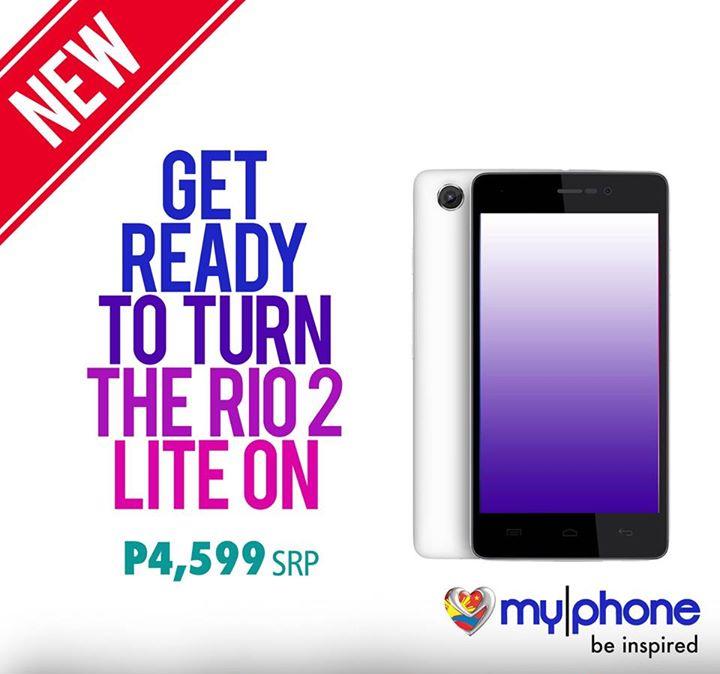 MyPhone RIO 2 Lite Specs, Price and Availability