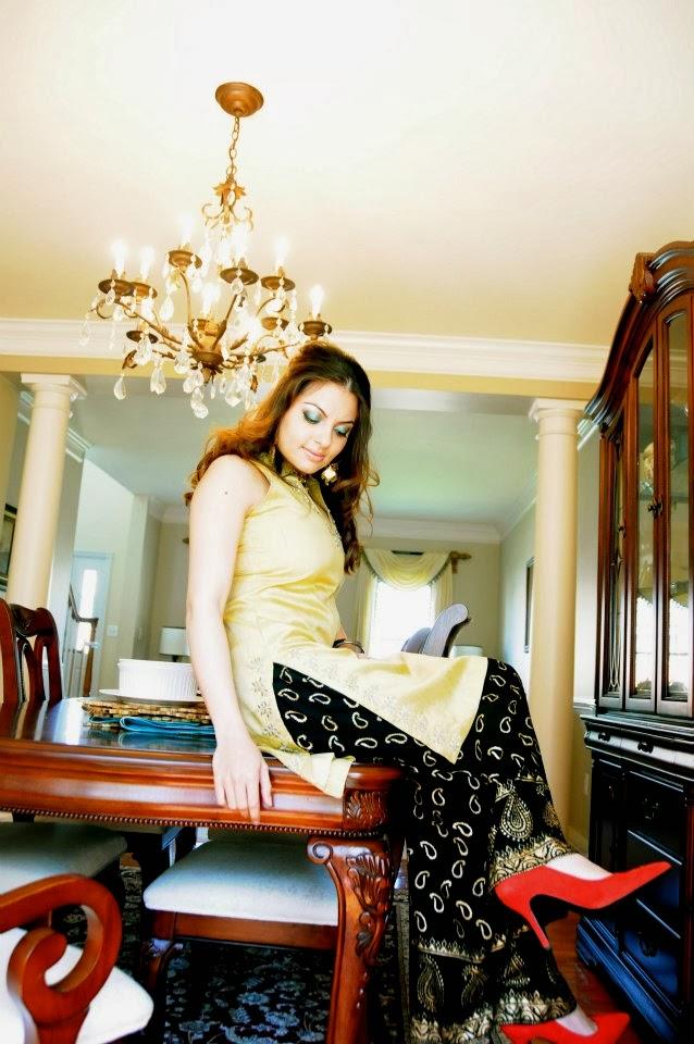 Designer Ashraf Villiani New Party Wear Dresses 2013 For Women And Girls