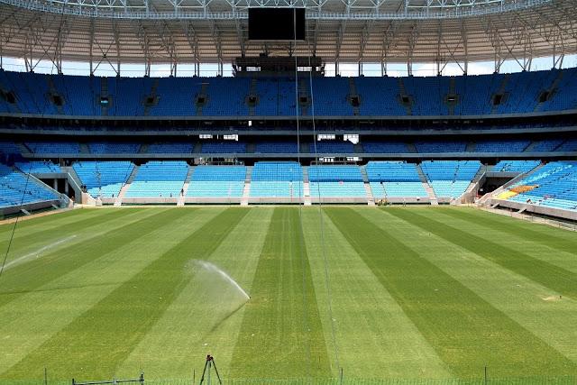 Inauguração da Arena do Grêmio terá shows e uma partida entre o Grêmio x Hamburgo