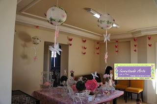 festa decoração borboletas