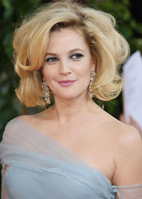 Drew Barrymore Dangling Gemstone Earrings