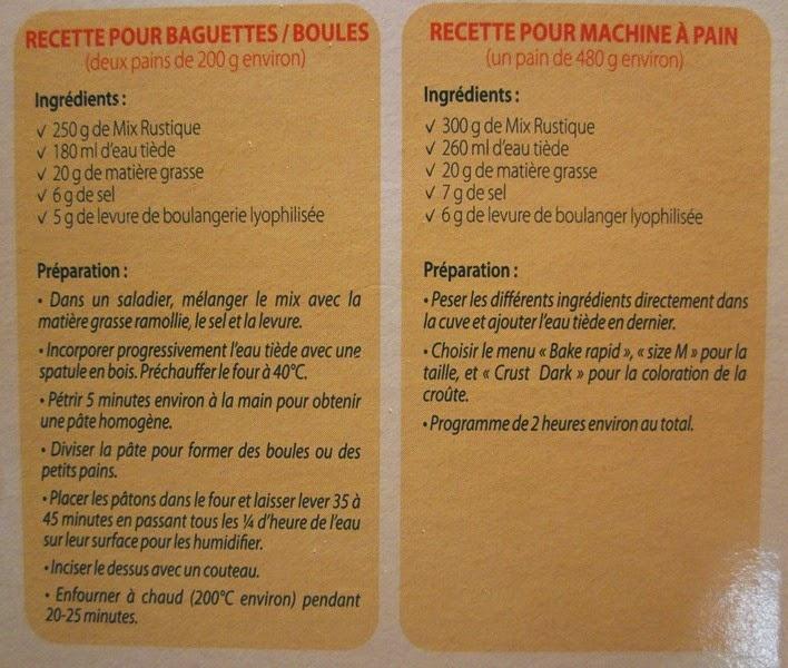 farine Mix Rustique Valpiform sans gluten