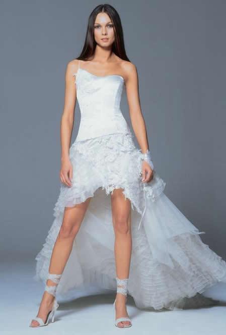 Vestidos de novia para novias: Estilo de la moda del vestido de ...