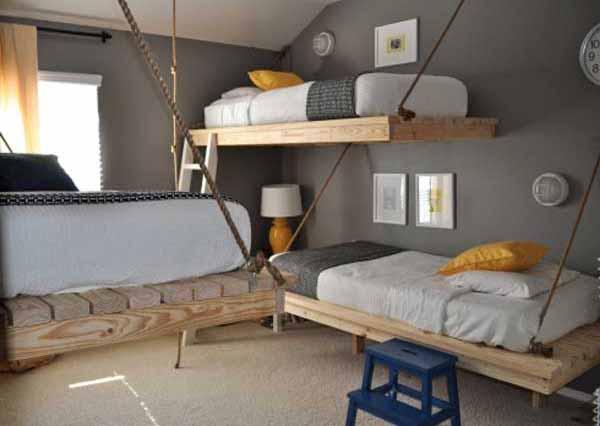 lebih banyak ide tentang tempat tidur terbaik untuk anak-anak