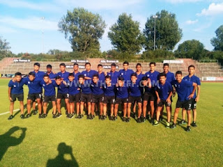 India U-16 defeated Elche U-16