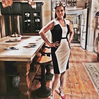 Lesley Fera (Veronica Hastings) PLL BTS 6x17